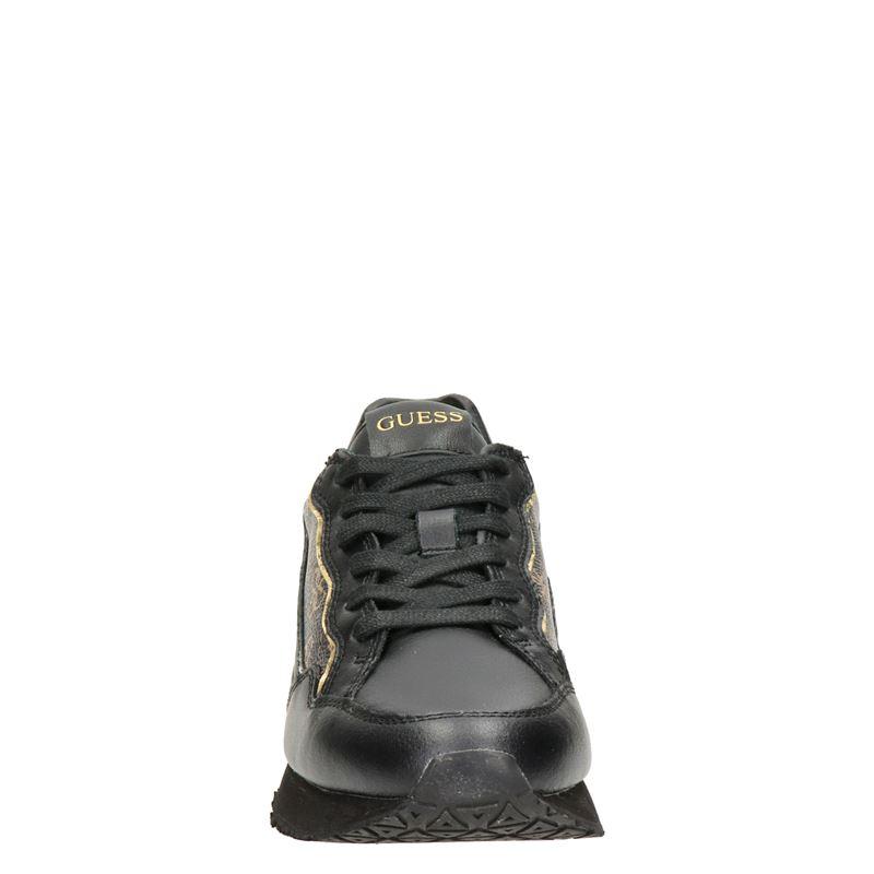 Guess Genova - Lage sneakers - Zwart