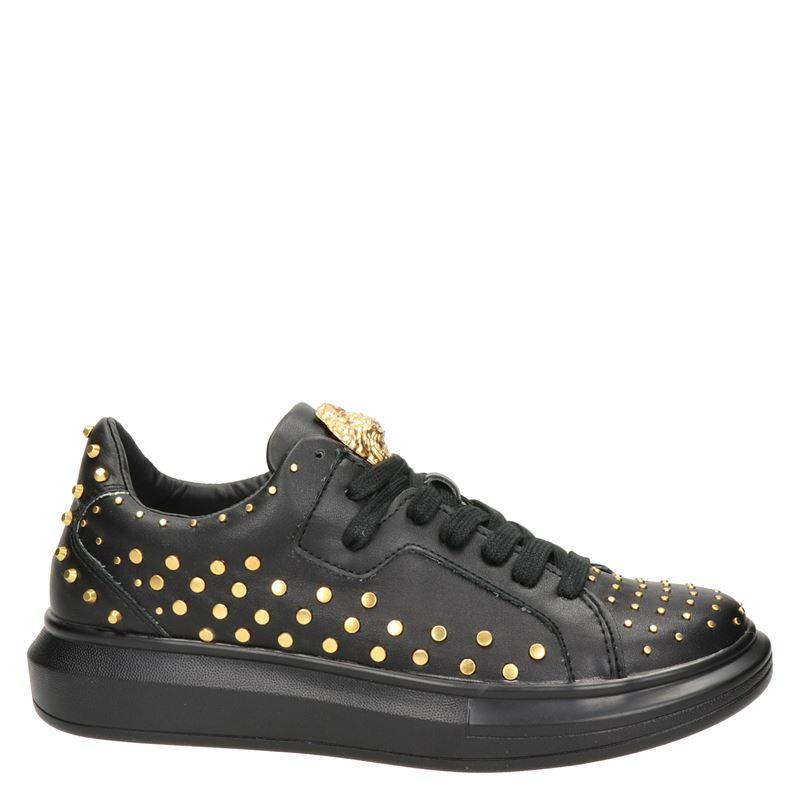 Guess Salerno - Lage sneakers - Zwart
