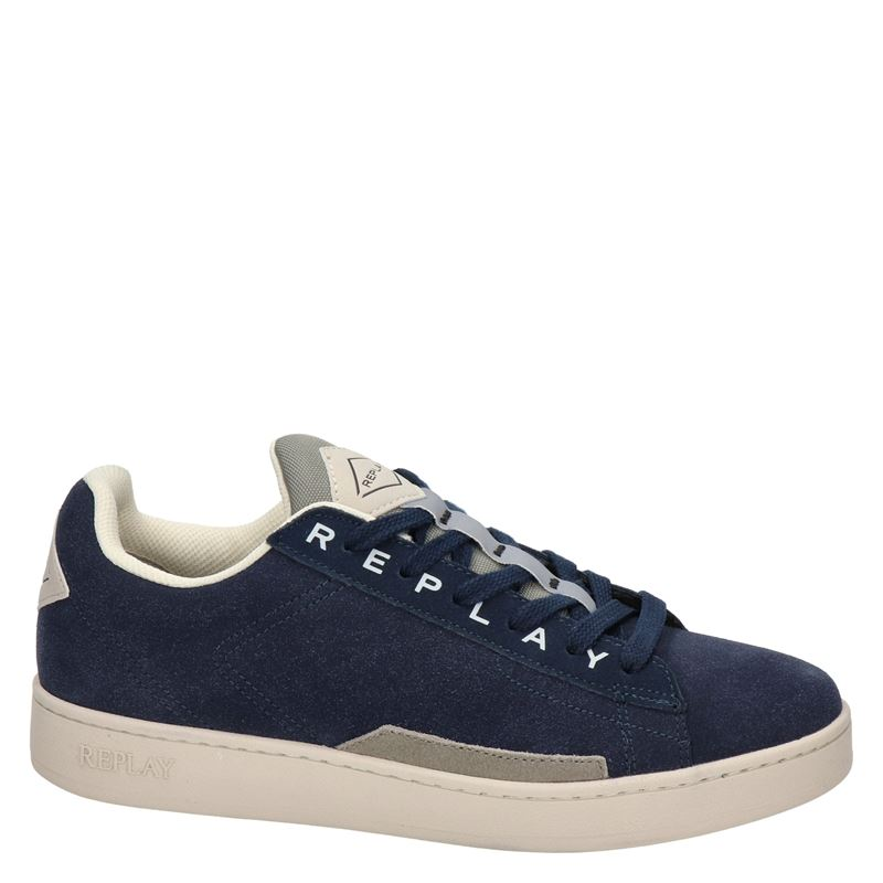 Replay Iron - Lage sneakers - Blauw