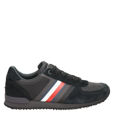 Tommy Hilfiger Sport Iconic Mix - Lage sneakers - Zwart