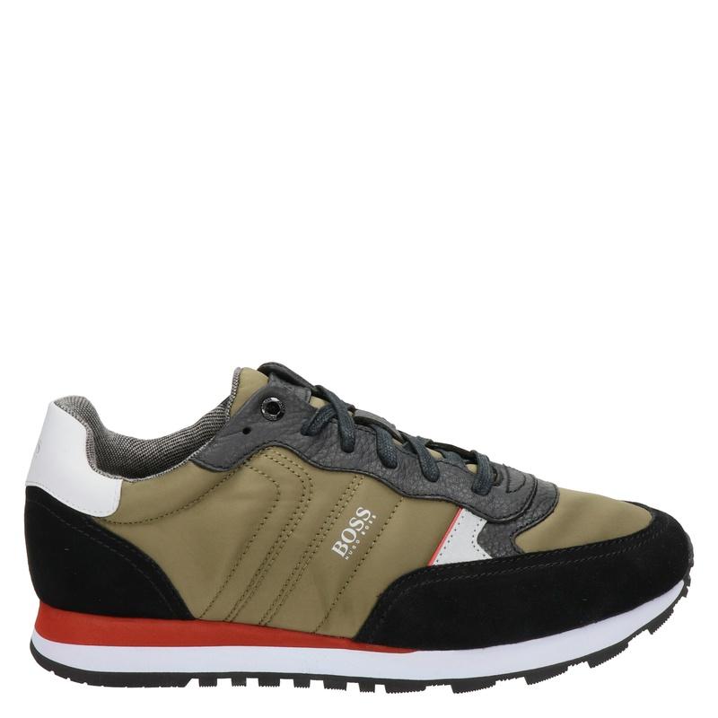 Hugo Boss Parkour Runn MX - Lage sneakers - Groen