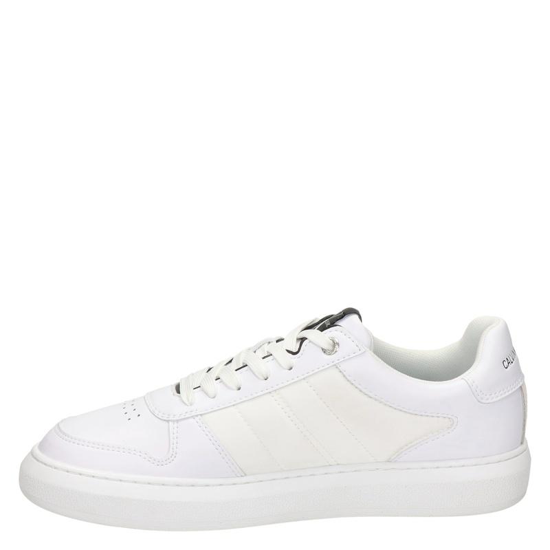 Calvin Klein Oxford - Lage sneakers - Wit