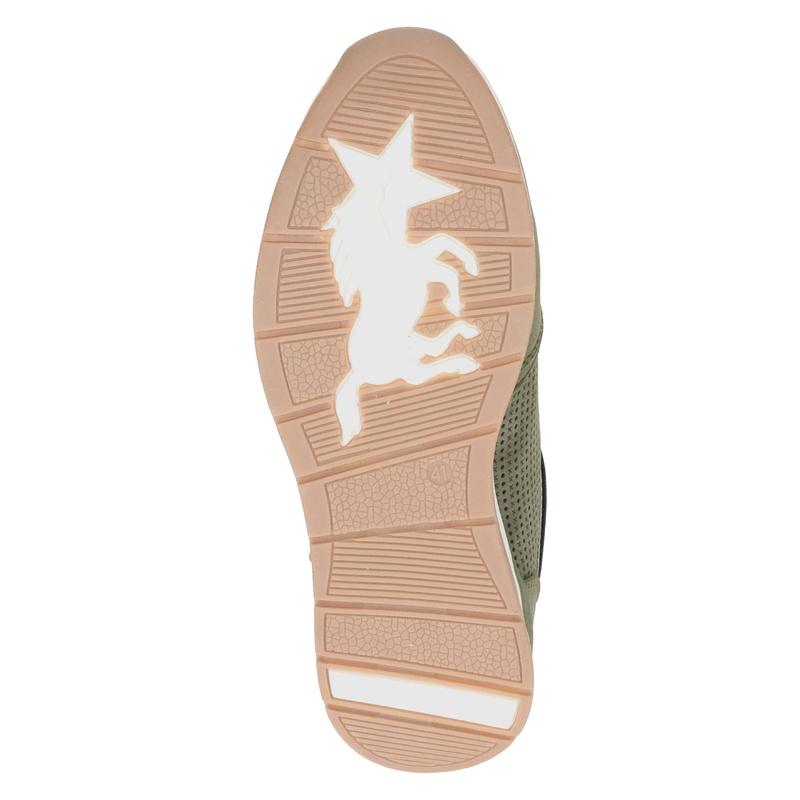 Mustang - Lage sneakers - Groen