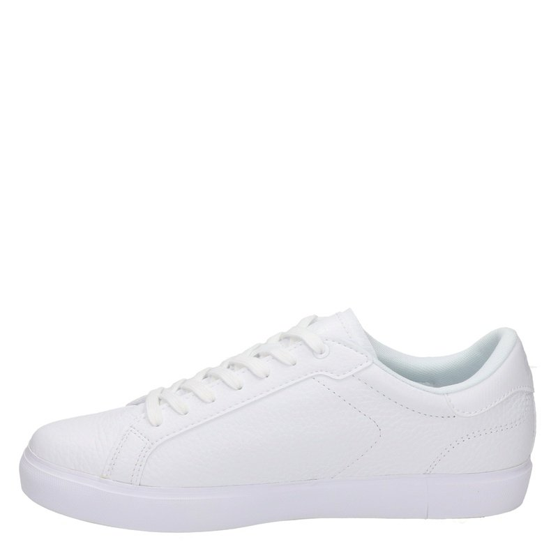 Lacoste Powercourt - Lage sneakers - Wit