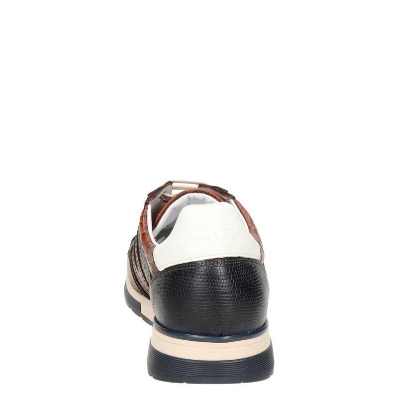 Van Lier Positano - Lage sneakers - Cognac