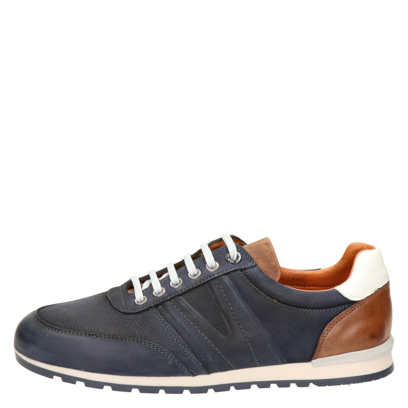 Van Lier Anzano - Lage sneakers - Blauw