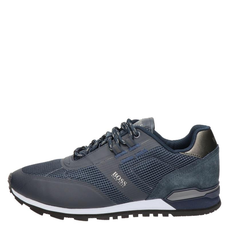 Hugo Boss Parkour Runn - Lage sneakers - Blauw