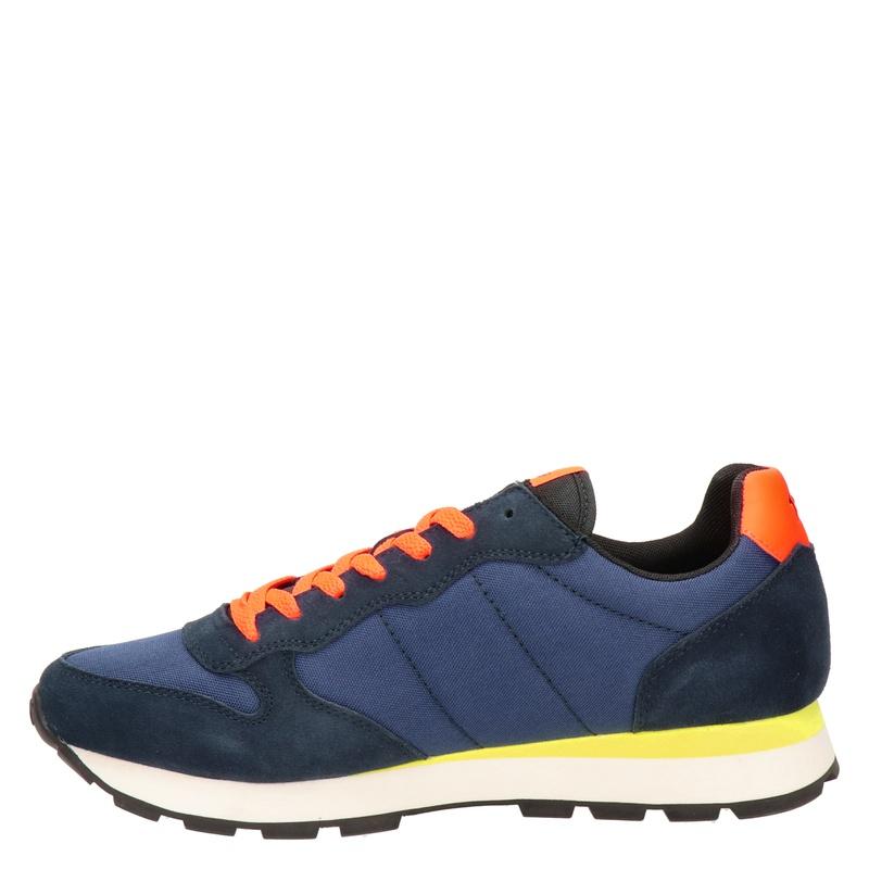 Sun 68 - Lage sneakers - Blauw