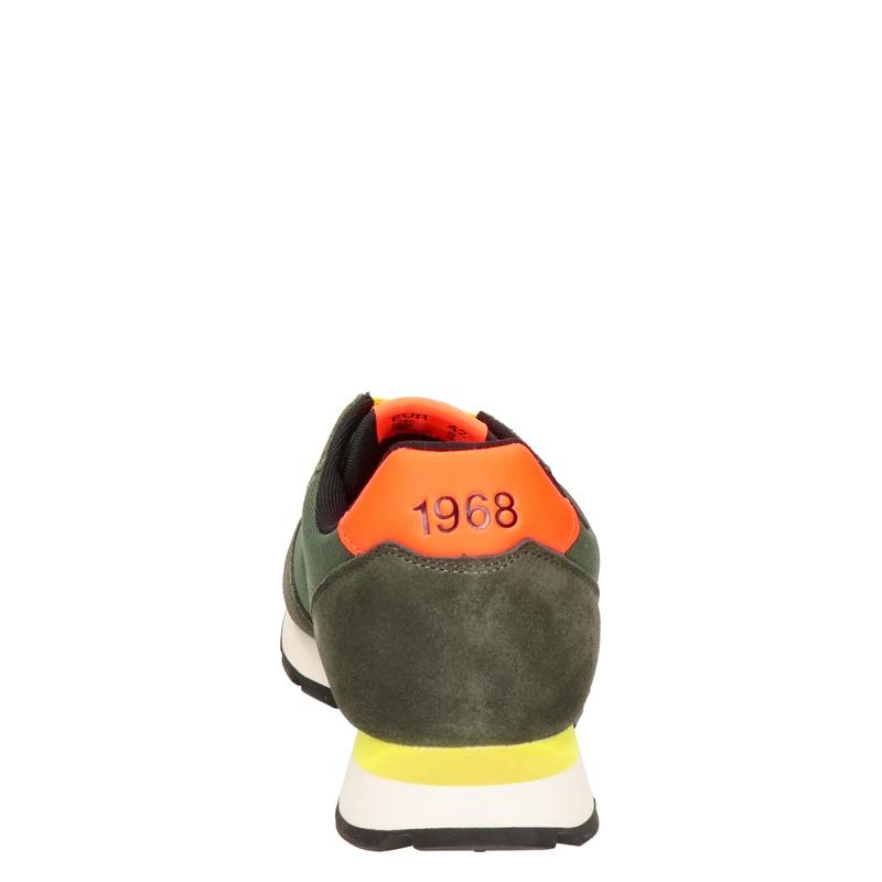 Sun 68 - Lage sneakers - Groen