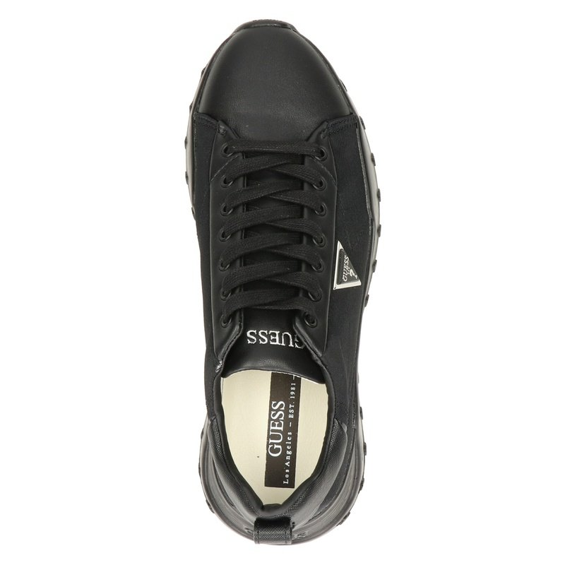 Guess Lucca - Lage sneakers - Zwart