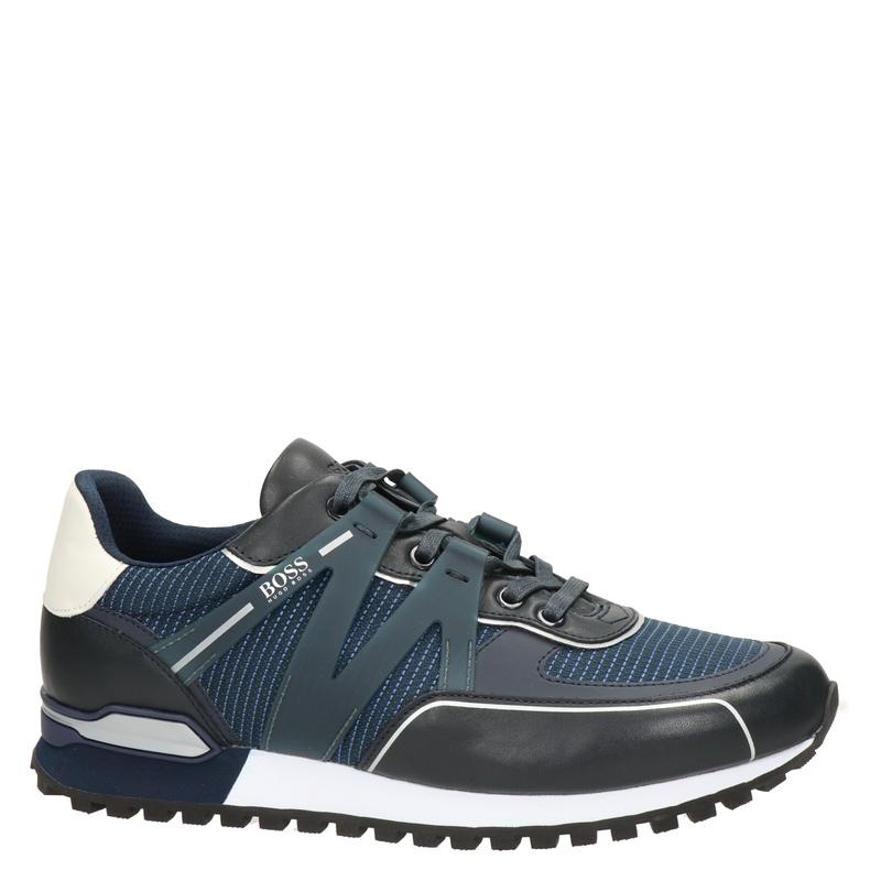 Hugo Boss Parkour L Runner - Lage sneakers - Blauw