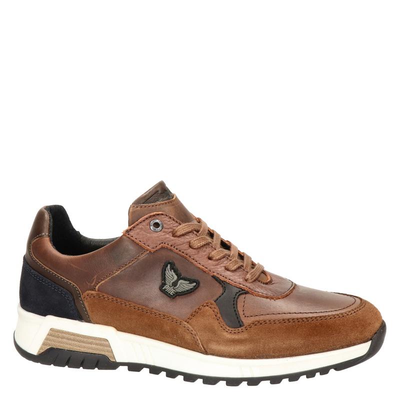 PME Legend Valkman - Lage sneakers - Cognac
