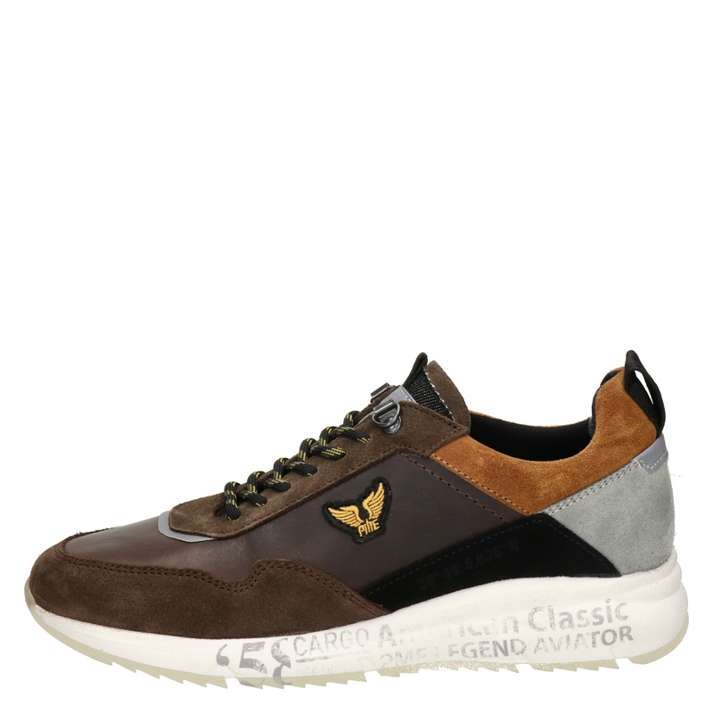 PME Legend Notcher - Lage sneakers - Bruin