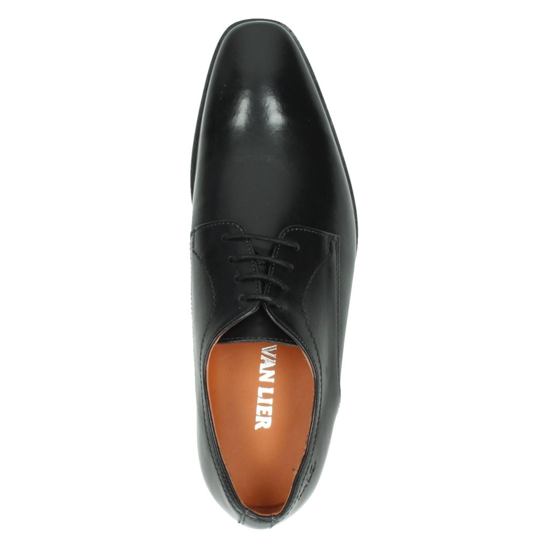 73f5ce02efc Van Lier 6000 heren lage nette schoenen zwart