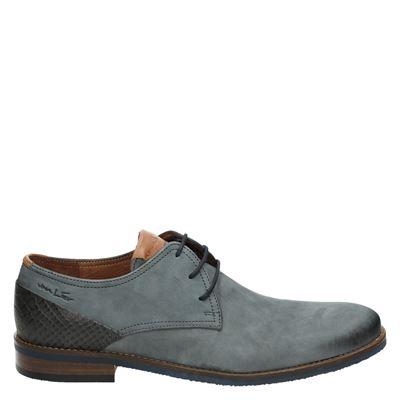 Van Lier heren veterschoenen grijs