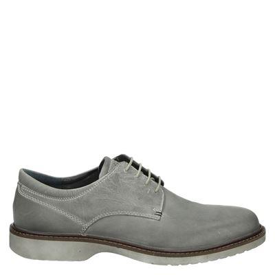 Ecco heren veterschoenen grijs