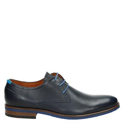 Van Lier heren nette schoenen blauw