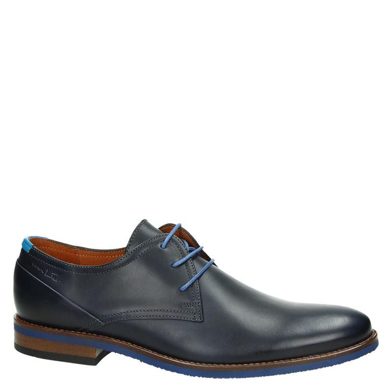 Van Lier 5340 - Lage nette schoenen - Blauw