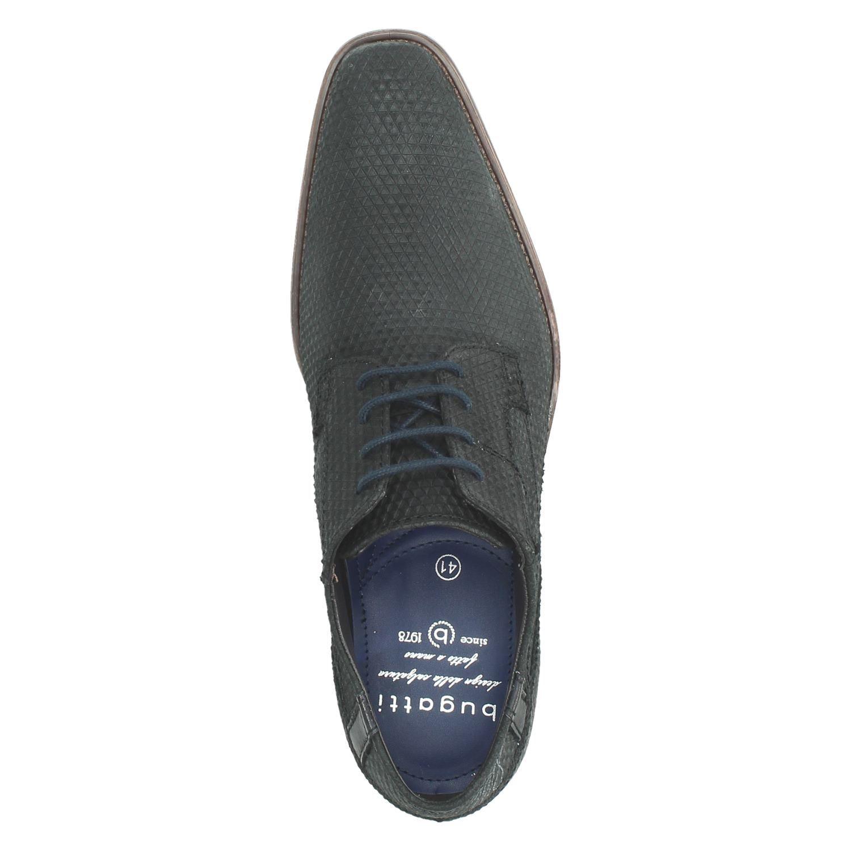 Bugatti - Lage nette schoenen voor heren - Zwart a8n82tx