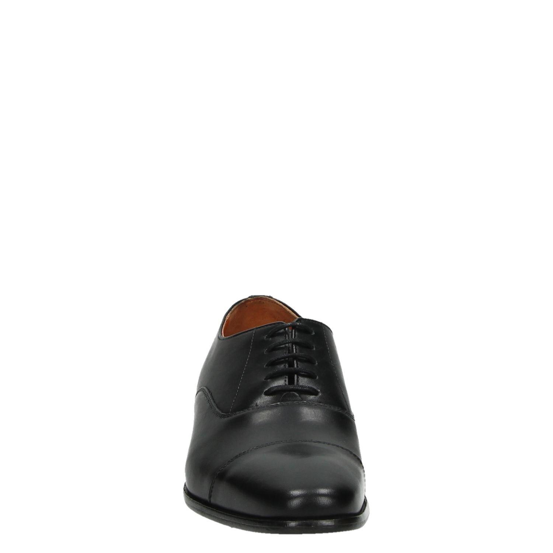 Van Lier 6004 - Veterschoenen voor heren - Zwart 7RVLUlO