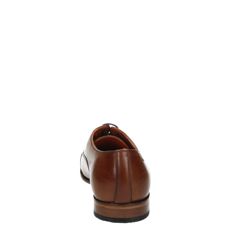 Van Lier 6004 - Veterschoenen voor heren - Cognac djCYwdq