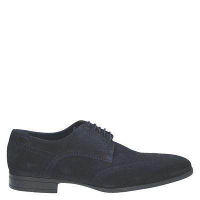 Greve heren nette schoenen blauw