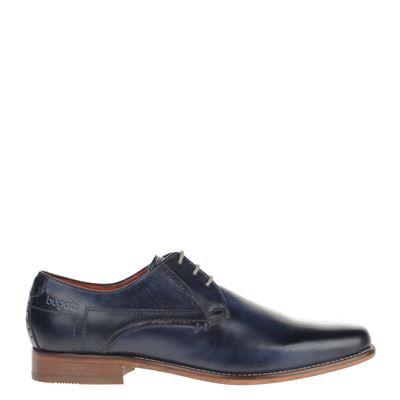 Bugatti heren nette schoenen blauw