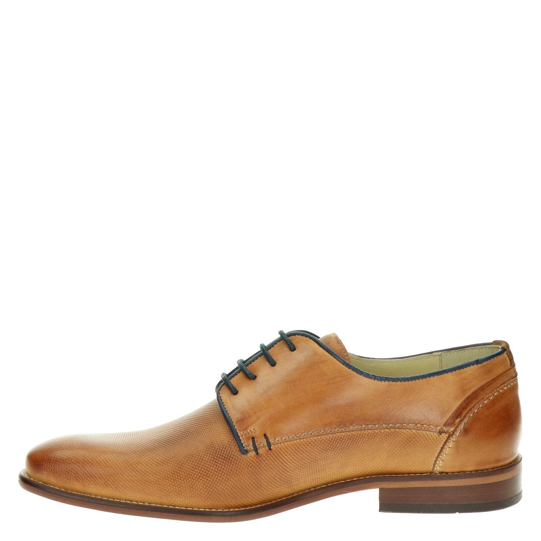 Nelson - Lage nette schoenen voor heren - Cognac CbICIGB