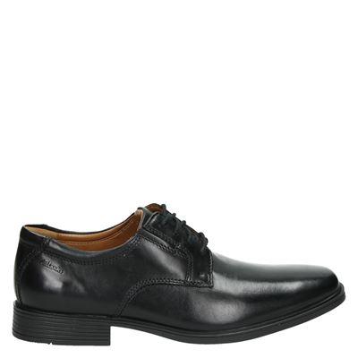 Clarks heren veterschoenen zwart
