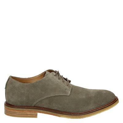 Clarks heren nette schoenen groen