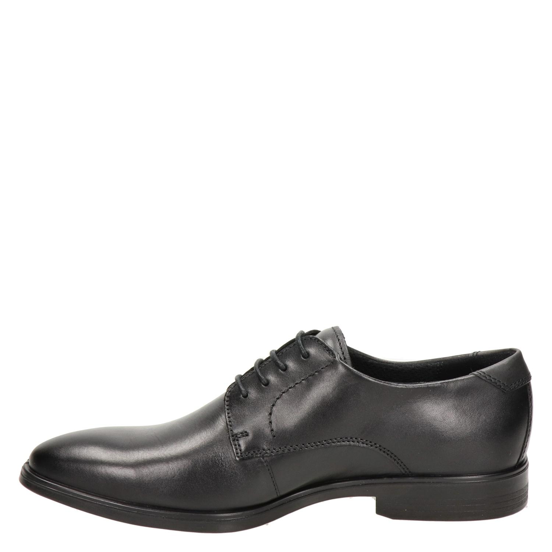 Ecco Melbourne - Lage nette schoenen voor heren - Zwart juzPk8d
