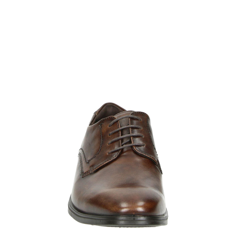 Ecco Melbourne - Lage nette schoenen voor heren - Bruin lUOqesX