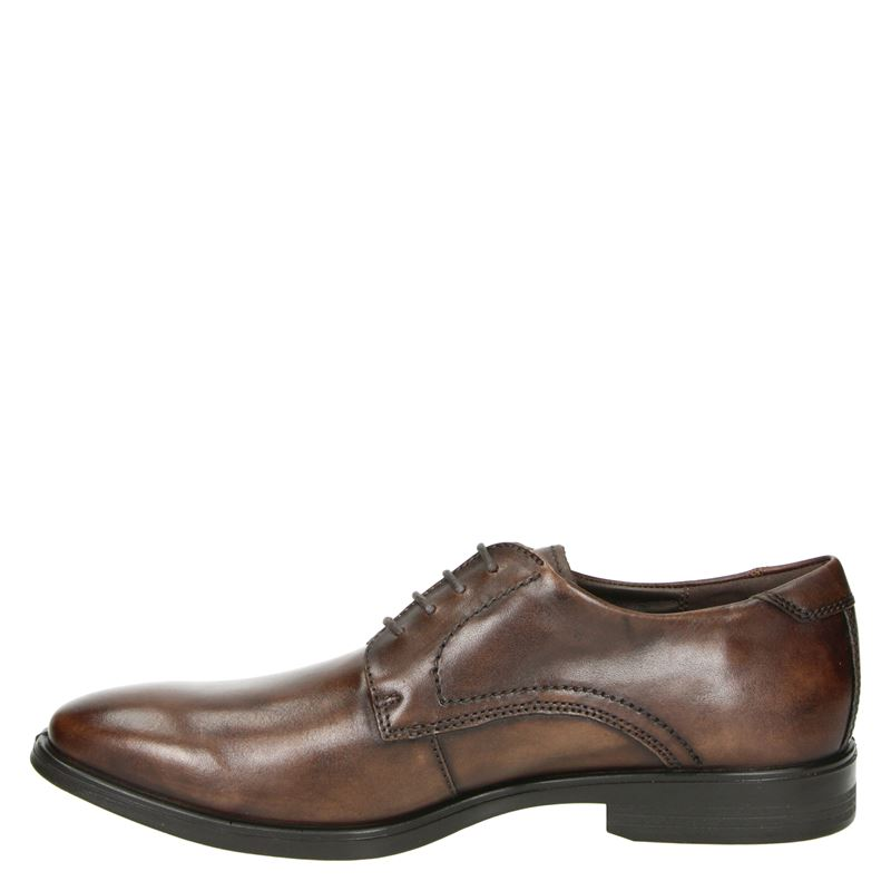 Ecco Melbourne - Lage nette schoenen - Bruin