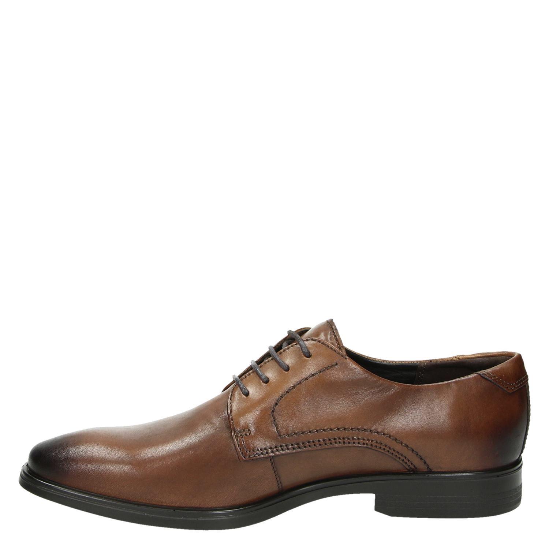 Ecco Melbourne - Lage nette schoenen voor heren - Cognac Im536lz
