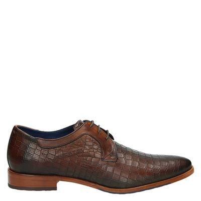 Daniel Hechter heren nette schoenen cognac