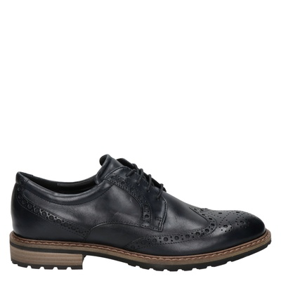 Ecco heren nette schoenen blauw