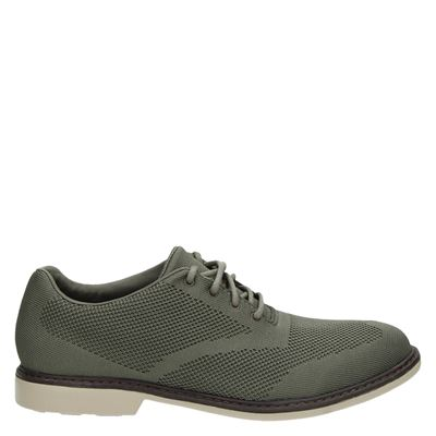Skechers heren veterschoenen taupe