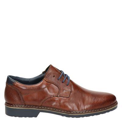 Rieker heren nette schoenen cognac