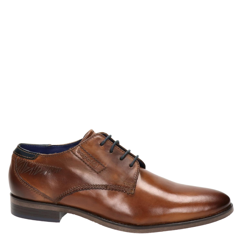 Bugatti - Lage nette schoenen voor heren - Cognac zQNyAc1