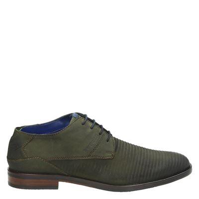 Bugatti heren nette schoenen groen