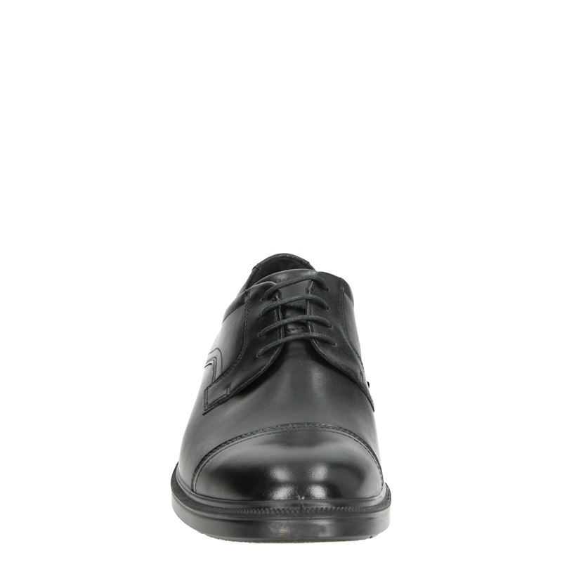 Ecco Lisbon - Lage nette schoenen - Zwart