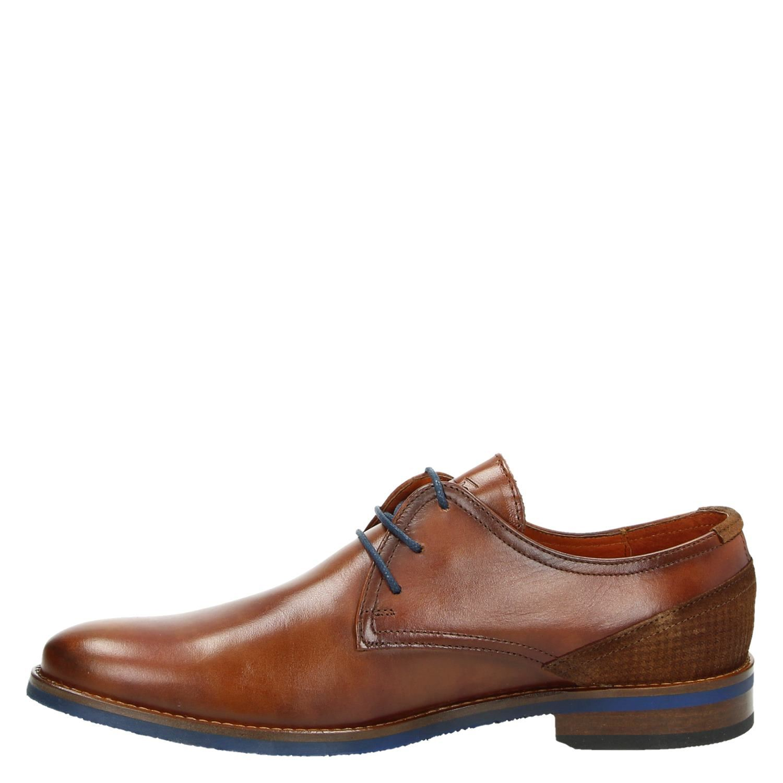 Van Lier - Lage nette schoenen voor heren - Cognac 5bBpy7o