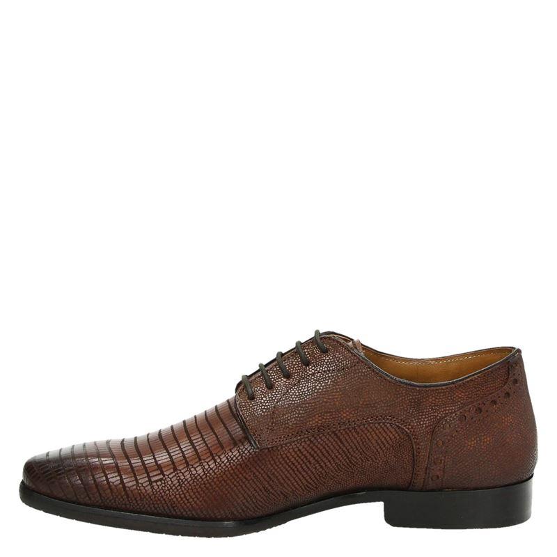 Nelson - Lage nette schoenen - Cognac