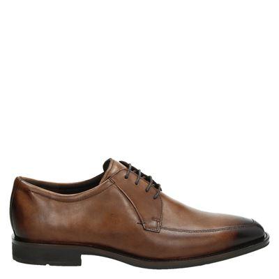 Ecco Calcan - Lage nette schoenen - Cognac
