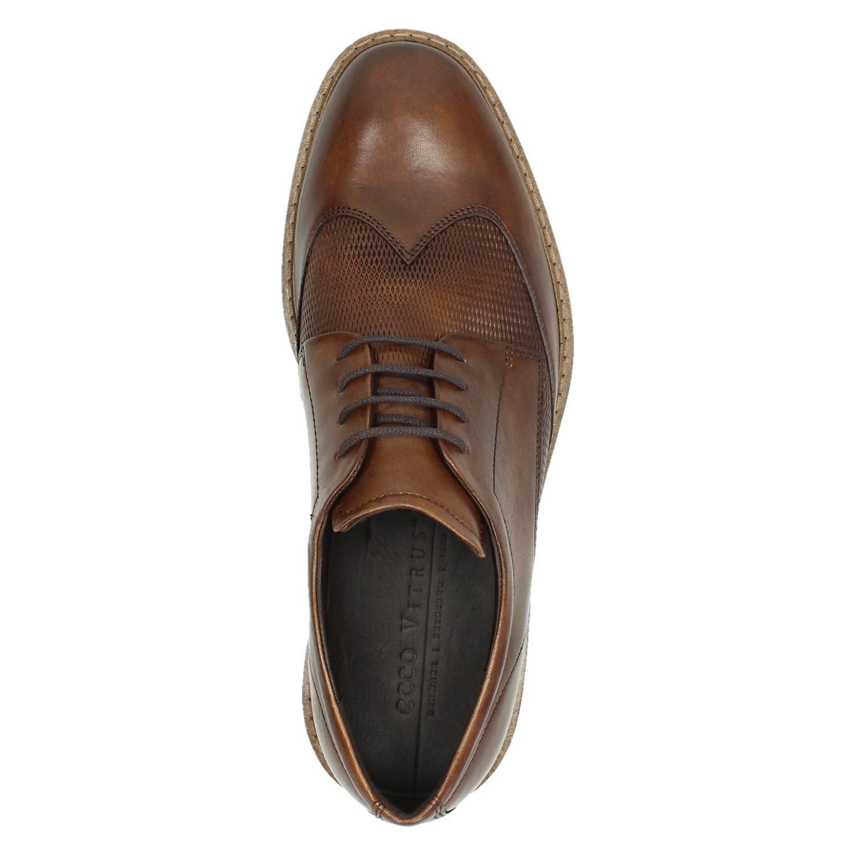 Ecco Vitrus1 - Lage nette schoenen voor heren - Cognac JXAxUrI
