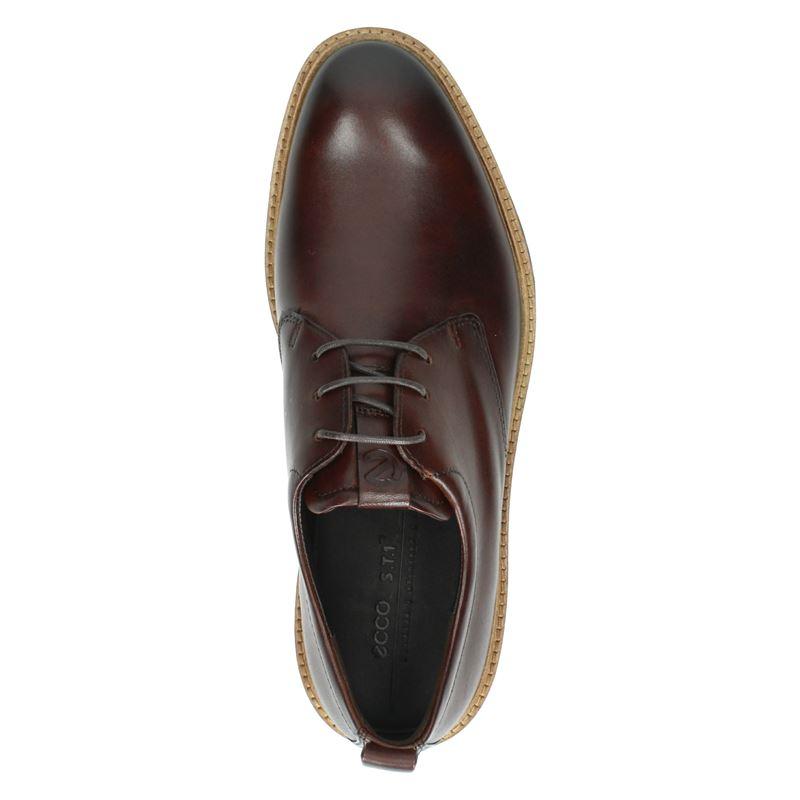 Ecco ST.1 Hybrid - Lage nette schoenen - Cognac