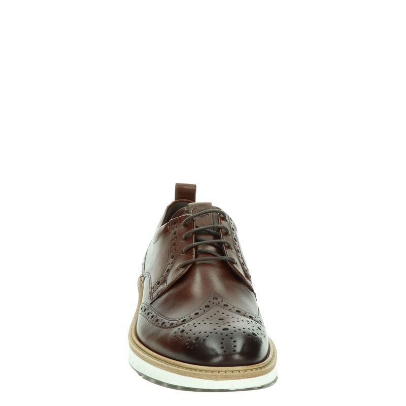Ecco ST1 Hybrid - Lage nette schoenen - Cognac