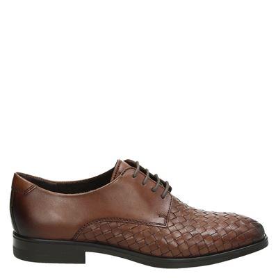 Ecco heren nette schoenen cognac