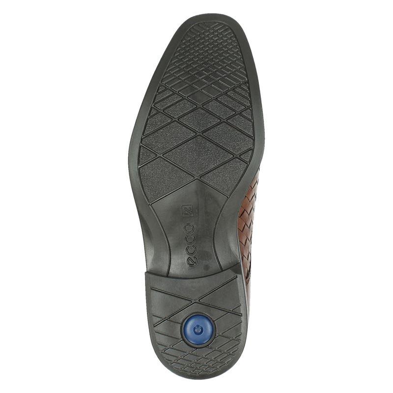 Ecco Melbourne - Lage nette schoenen - Cognac