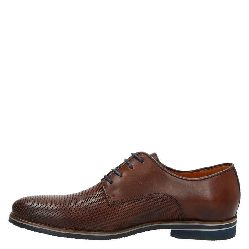 Van Lier - Lage nette schoenen - Cognac